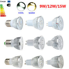 Dimmable Bombillas 9W 12W 15W MR16 E27 GU10 EPISTAR LED Spot Light Bulb Focos