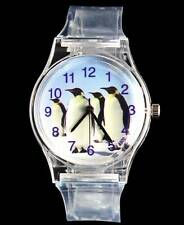 Penguin Animal Love Antarctica Pet Cartoon Children Kids Boy Girl Gift Watch
