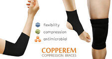 Copperem Comfort Copper Infused Compression Brace for Elbow, Knee, or Ankle