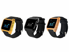 Bluetooth3.0 Bracelet Smart Watch Sync Call Phone for iPhone Samsung IOS Android