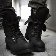 New Retro Combat boots Winter British-style fashionable Men short casual shoesX1