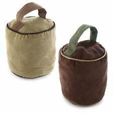 Weighted Soft Fabric Doorstop Home Office Heavy Indoor Stopper