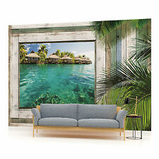 Beach Sea Sand Landscape PHOTO WALLPAPER WALL MURAL ROOM DECOR (1228P)