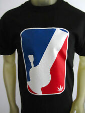 NEW Bong Major League 420 plant life weed smoke shirt men's black sizes S-2XL