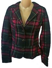 Womens AEROPOSTALE Plaid Blazer NWT $74.50 #2150