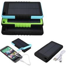 8000mA USB Solar Panel Power Bank External Battery Pack Charger For iPhone LG