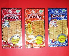 Lot1/12/25/50/100Pcs 6g BENTO Snack Squid Sweet&Spicy,Thai Chili Sauce,Hot&Spicy