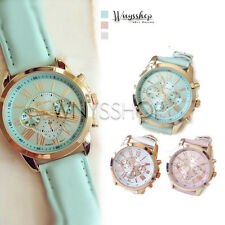 Women Watch Wrist New Korea 3 Eyes Analog Quartz Lady Girl Fashion Watches Hot