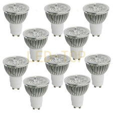 High Power 10PCS GU10 Muti Color Home LED Bulb Lamp Spotlight 3W/4W/5W AC85-265V