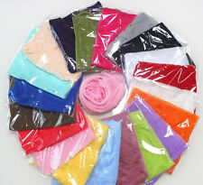 Ladies Soft Chiffon Scarf Neck Wrap Shawl Scarves 25 Colours - FIXED P&P