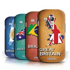 STUFF4 Back Case/Cover/Skin for Samsung Galaxy S3 Mini/Flag Nations