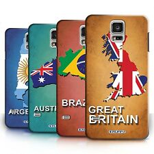 STUFF4 Back Case/Cover/Skin for Samsung Galaxy S5/SV/Flag Nations