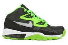 Girls Nike Air Trainer SC GS Black Lime Trainers  579806 004
