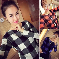 Hot New Fashion Women lady Casual Top Long Sleeve T Shirt Blouse