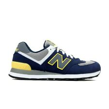 "New Balance ""Core Collection"" ML574SBY (Navy/Yellow/Grey) Men's Shoes"