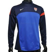 New Nike Womens US Soccer Team Training Top Pullover Shirt Sweatshirt Jacket