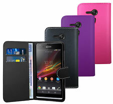 Fashion Book Wallet Quality Leather Case Cover For Sony Xperia SP