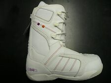 NEW Discounted Womens 5150 Empress Snowboard Boots in White Sizes 7, 8