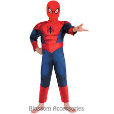 CK305 Ultimate Spider Man Muscle Child Spiderman Superhero Hero Kid Boys Costume