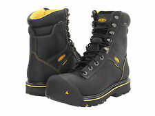 KEEN UTILITY WENATCHE STEEL TOE WATERPROOF RUGGED WORK BOOT BLACK NEW IN BOX