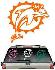 *BUY 2,GET 1 FREE**DOLPHINS SUN CAR DECAL VARIOUS SIZE & COLOR WINDOW STICKER