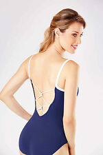 NEW! WOMENS DANCE BALLET LEOTARD WITH DUAL COLORS. 3 DIFFERENT STYLES! (RDE1541)