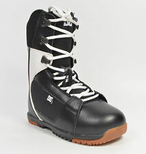 DC Shoes PARK BOOT Mens Lace-Up Snowboard Boots Black White NEW IN BOX