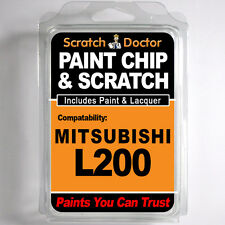MITSUBISHI L200 TOUCH UP PAINT Stone Chip Scratch Car Repair Kit . 2010 - 2014