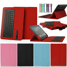 Bluetooth Keyboard Stand Case Cover For Samsung Galaxy Note 10.1 GT-N8013 N8000