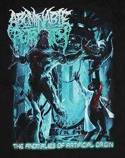 Abominable Putridity The Anomalies of Artificial Origin Man T-shirt Sz. S,M,L,XL