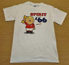 NEW MEN'S WEENICONS SPIRIT OF '66 ENGLAND T-SHIRT SIZES: SMALL up to EXTRA LARGE