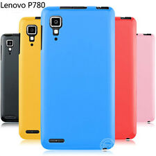 New Slim Matte Soft Rubber Gel Pastel Candy Skin Case Cover For Lenovo P780 A850