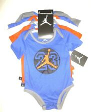 NIKE AIR JORDAN BABY BOYS BODYSUIT SHIRT CLOTHES 5 PC SIZE 0-3-6 9-12M NWT $60