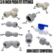 """Compatible with John Guest JG  3/8"""" Push Fit Tap, Beer Cooler, Pump Connections"""