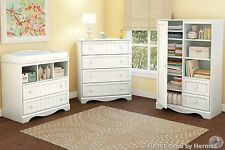Nursery Room Furniture Set Door Chest Storage Changing Table Drawer Cabinet Baby