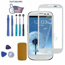 White for Samsung Galaxy S3 i9300 Front Screen Glass Lens Replacement Repair Kit
