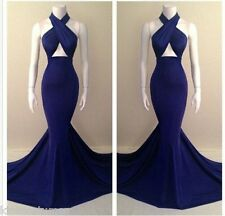 Formal Wrap Ball Gown Formal Night Deluxe Long Dress S M L