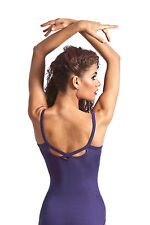NEW! WOMENS BALLET DANCE CAMI LEOTARD WITH A SWEETHEART BUST. 6 COLORS! (D353)
