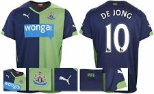 *14 / 15 - PUMA ; NEWCASTLE UTD 3rd KIT SHIRT SS / DE JONG 10 = KIDS SIZE*