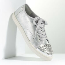 Simply Vera Vera Wang Studded Silver Oxford Shoes - Women