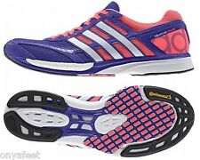 NEW WOMENS ADIDAS AdiZero Takumi Ren Boost3 LADIES RUNNING/RUNNERS/GYM SHOES