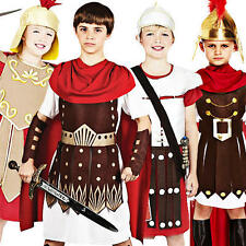 Roman Boys Fancy Dress Historical Rome Grecian Childrens Book Week Kids Costume