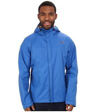 NWT North Face Men's Waterproof Venture Rain Jacket Coat Snorkel Blue