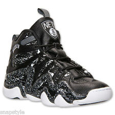 New Men's ADIDAS Crazy 8 S83938 Brooklyn Nets Black All Star Splatter Basketball