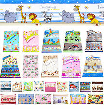 baby girl & boy cushion, pillow cover, bedding set for cot 100% cotton animals