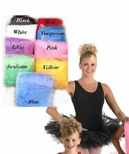 6 Layer Classical Tutu Skirt Ballet Dance Costume w/Edge Ruffle Made In USA