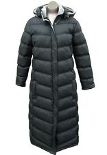 "Women Black Puffer Padded Long Coat 49""  (Full Length),Hood, Plus size 2X and 3X"