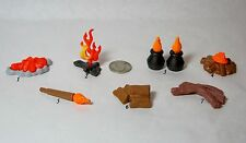 Playmobil Choose One Campfire Fire Torch Pot Wood Farm Western Indian Castle