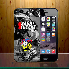 Barry SHEENE british grand prix moto route racer Dur Phone Housse z444