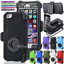 Defender Case w/Build in Screen Protector and Belt Clip for Apple iPhone